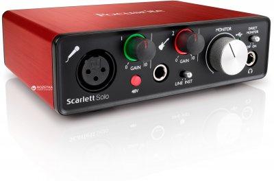 Аудіоінтерфейс Focusrite Scarlett Solo 2nd Gen  (223888)