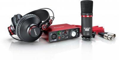 Комплект для звукозапису Focusrite Scarlett Solo Studio 2nd Gen (223889)
