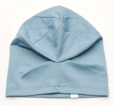 Демисезонная шапка Модный карапуз 03-00725-3 52-54 см Голубая (4821611837252)