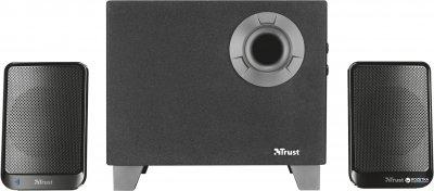 Акустическая система Trust Evon Wireless 2.1 Speaker Set Black (TR21184)