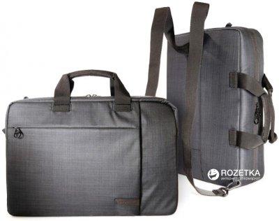 """Сумка-рюкзак трансформер для ноутбука Tucano Svolta Combo 15.6"""" Black (BSVO15DZ)"""