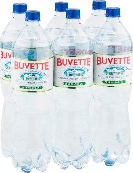 Упаковка минеральной слабогазированной воды Buvette Vital 1.5 л х 12 бутылок (4820115400450)