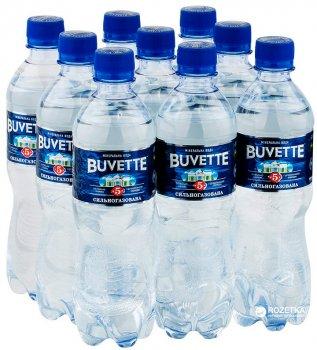 Упаковка минеральной сильногазированной воды Buvette №5 0.5 л х 9 бутылок (4820115400016)