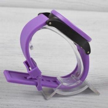 Женские электронные часы Skmei Violet наручные спортивные на пластиковом ремешке + коробка (1080-0637)