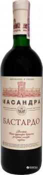 Вино Масандра Бастардо червоне десертне 0.75 л 16% (4820013375737_4820013375423)