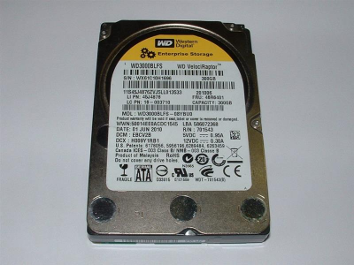 "Накопичувач HDD 2.5"" SATA 300GB WD VelociRaptor 10000rpm 16MB (WD3000BLFS) Refurbished"
