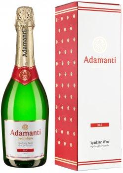 Вино игристое Adamanti белое брют 0.75 л 13% в коробке (4860004073303)