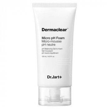 Гель-пенка для очищения чувствительной кожи Dr. Jart+ Micro Dermaclear pH Foam 120 мл
