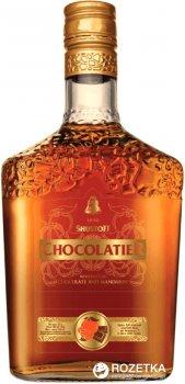 Коньячно-шоколадный алкогольный напитокШустов Chocolatier. Chocolade & Сitron 3 года выдержки 0.5 л 30% (4820000944526)