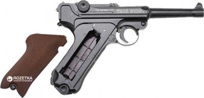 Пневматичний пістолет Gletcher P08 (44836)