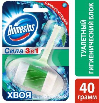 Туалетний блок для унітазу Domestos Хвоя 40 г (8710908733307)
