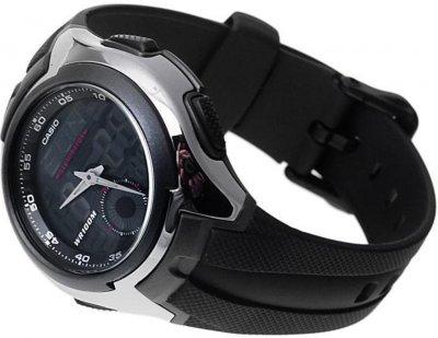 Чоловічий годинник Casio AQ-160W-1BVEF