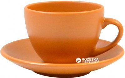 Чашка чайная с блюдцем Keramia Терракота 207 мл (24-237-012)