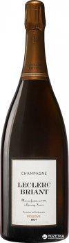 Шампанське Leclerc Briant Brut Rezerve біле сухе органічне 6 л 12% (3465020000763)
