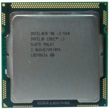 Б/У, Процессор, Intel® Core™ i3-540, 4 МБ, 3,06 GHz