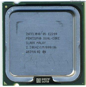 Б/У, Процесор, Intel Pentium 2200, 2 ядра, 2.2 GHz