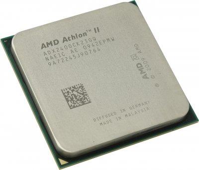 Б/У, Процесор, AMD Athlon II X2 240, ADX2400, 2,8 GHz, 2core, 2Mb, 65W, 4000MHz Socket AM3