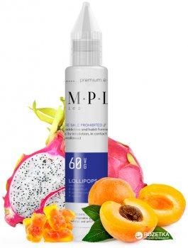 Жидкость для электронных сигарет SMPL 30 мл Lollipops (Мармелад+абрикос+питая)