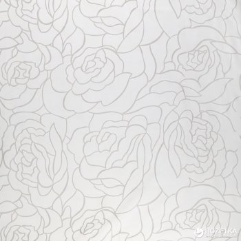 Фіранка для ванної Vanstore ROSES LINE White 62609