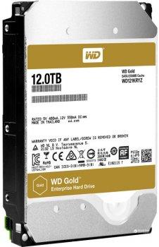 "Жорсткий диск Western Digital Gold 12TB 7200rpm 256MB WD121KRYZ 3.5"" SATA III"