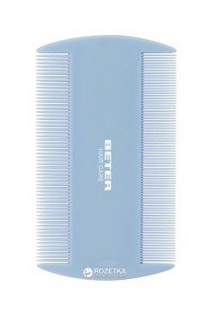 Гребешок для удаления вшей и гнид Beter с тонкими зубчиками 10 см Blue (8412122120061)