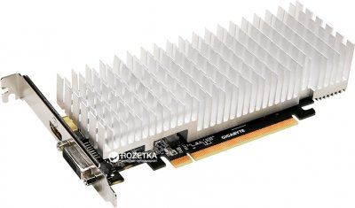 Gigabyte PCI-Ex GeForce GT 1030 Silent Low Profile 2GB GDDR5 (64bit) (1227/6008) (DVI, HDMI) (GV-N1030SL-2GL)