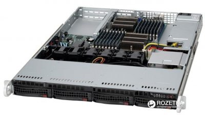 Корпус для сервера SuperMicro CSE-813MFTQ-R400CB