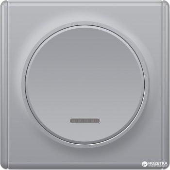 Выключатель с подсветкой OneKeyElectro Florence Серый (1Е31701302)