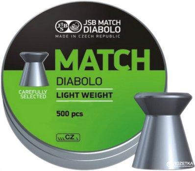 Свинцеві кулі JSB Match Diabolo Light 0.475 г 500 шт. (000005-500)
