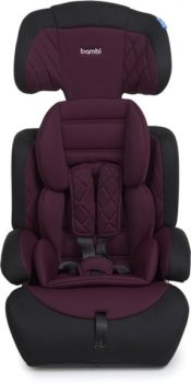 Автокрісло Bambi M 3546 9-36 кг Purple (Bambi M 3546 purple)