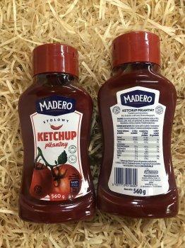 Кетчуп Madero Ketchup Pikantny 560г