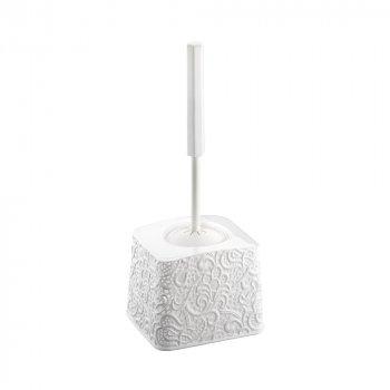 Ершик для унитаза Ажур Elif Plastik 333, Белый