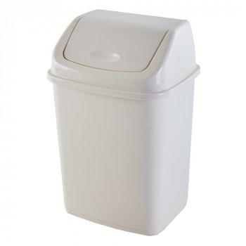 Відро для сміття 18 л Алеана, Білий