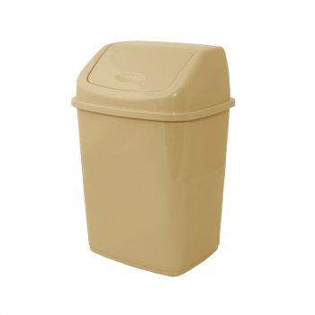 Відро для сміття 18 л Алеана, Бежевий