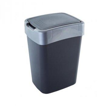 Відро для сміття 45 л Євро Алеана, Граніт/Сірий