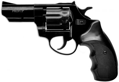 "Револьвер флобера ZBROIA PROFI-3 ""(чорний / пластик)"