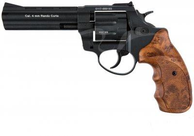 """Револьвер флобера STALKER S 4.5 """". Матеріал рукояті - пластик Wood"""
