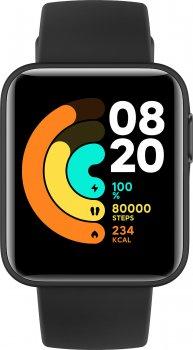 Смарт-часы Xiaomi Mi Watch Lite REDMIWT02 Black (Международная версия)