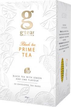 Черный чай Grace! Прайм тайм с ароматом лимона и лайма 2 г х 25 шт (5060207697835)