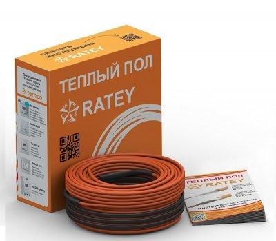 Тепла підлога двожильний нагрівальний кабель Ratey 400 Вт, 22 м