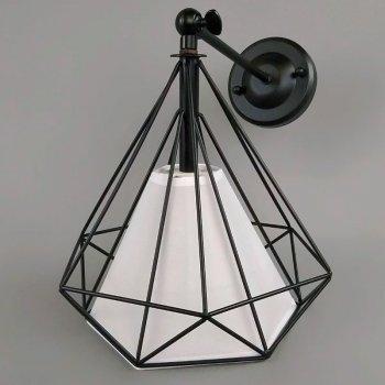 Бра настінне Light House NM-15297/1W BK+WH чорне