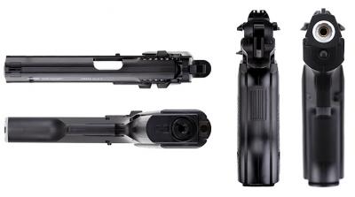 Пневматичний пістолет Gletcher JRH Jericho 941 Джеріко газобалонний CO2 130 м/с