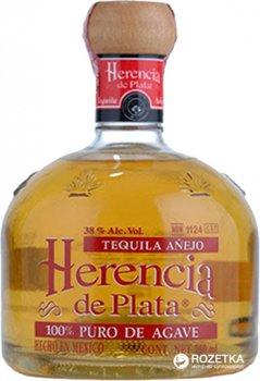 Текила Herencia De Plata 100% Agava Anejo 0.7 л 38% (7501054899266)