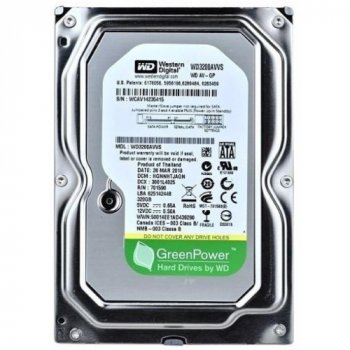 Жорсткий диск Western Digital AV-GP 320GB 5400rpm 8MB WD3200AVVS 3.5 SATAII Refurbished