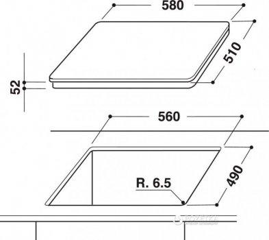 Варочная поверхность электрическая HOTPOINT ARISTON KIA 641 B B (DS)