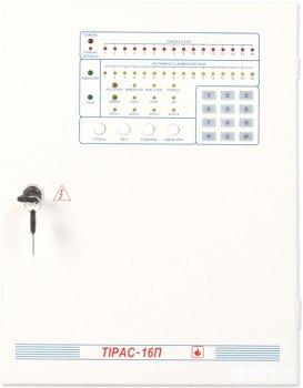 Прилад приймально-контрольний пожежний Тірас-16П