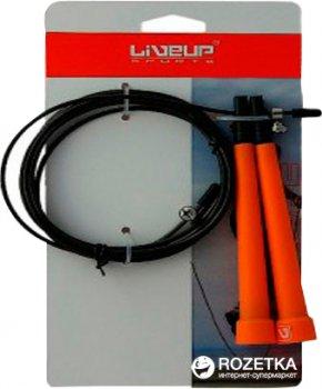 Швидкісна скакалка LiveUp Cable Jumprope 290 см Orange (LS3122)