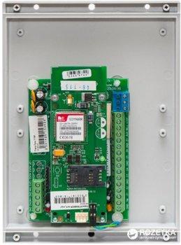 Прилад приймально-контрольний охоронно-пожежний Лунь-7Т технології бездротового з'єднання GSM