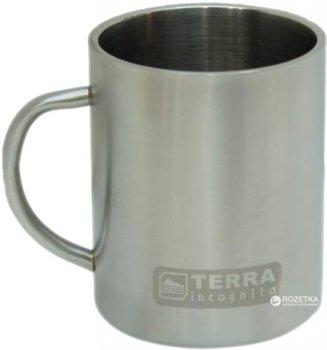 Термокружка Terra Incognita T-Mug 450 мл Срібляста (4823081504641)