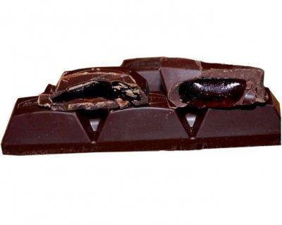 Шоколад Коммунарка горький десертный с вишневым соком 200 г